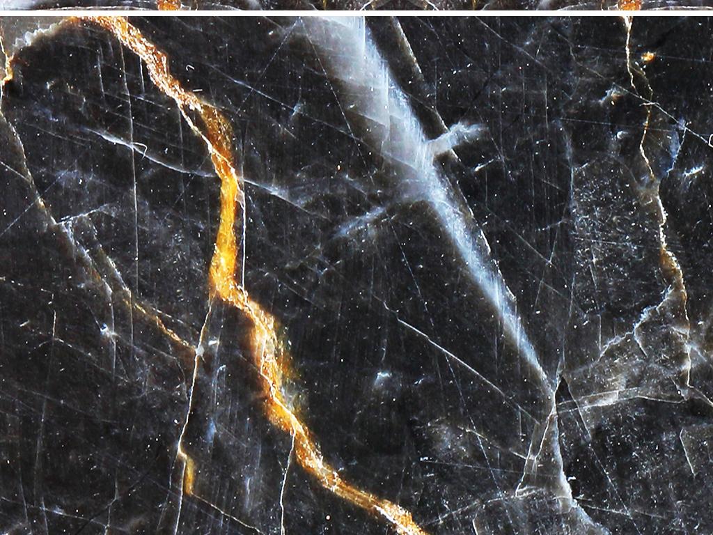 高清大理石背景墙壁纸瓷砖壁画黑色石材花纹