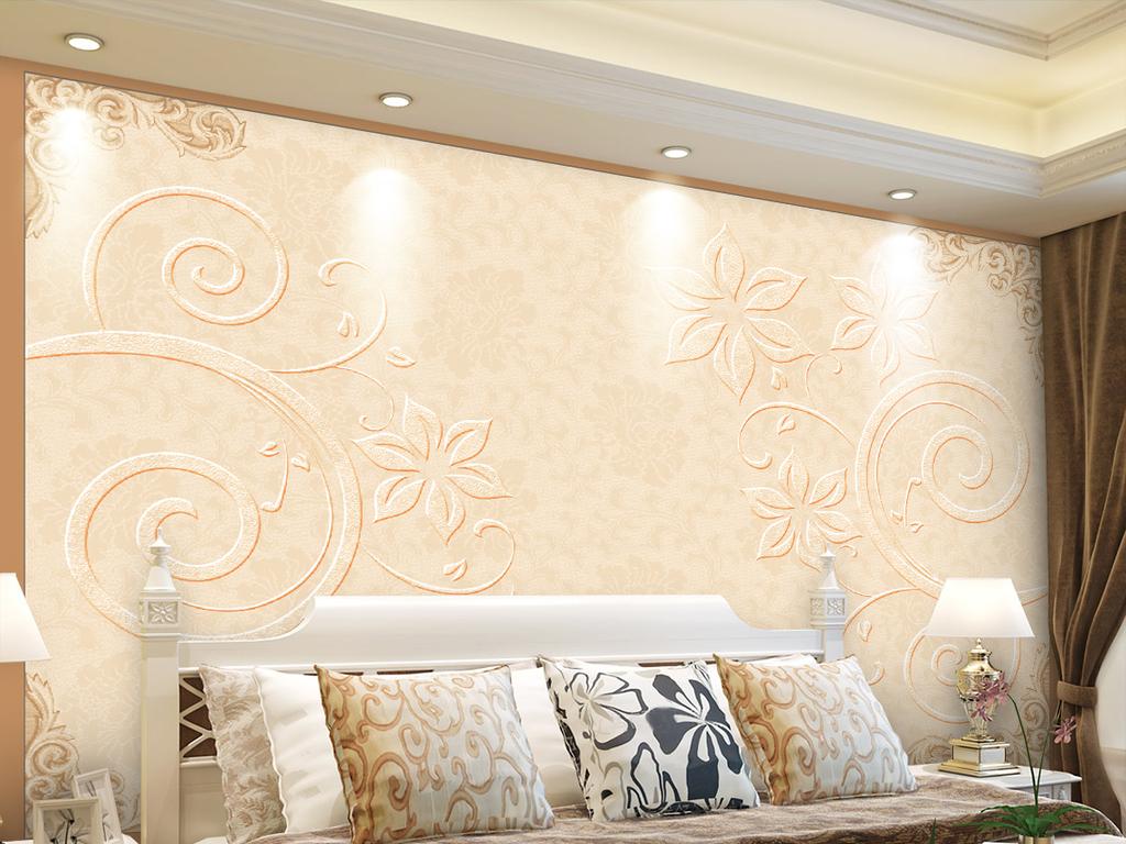 我图网提供精品流行欧式现代简约欧式花纹背景墙