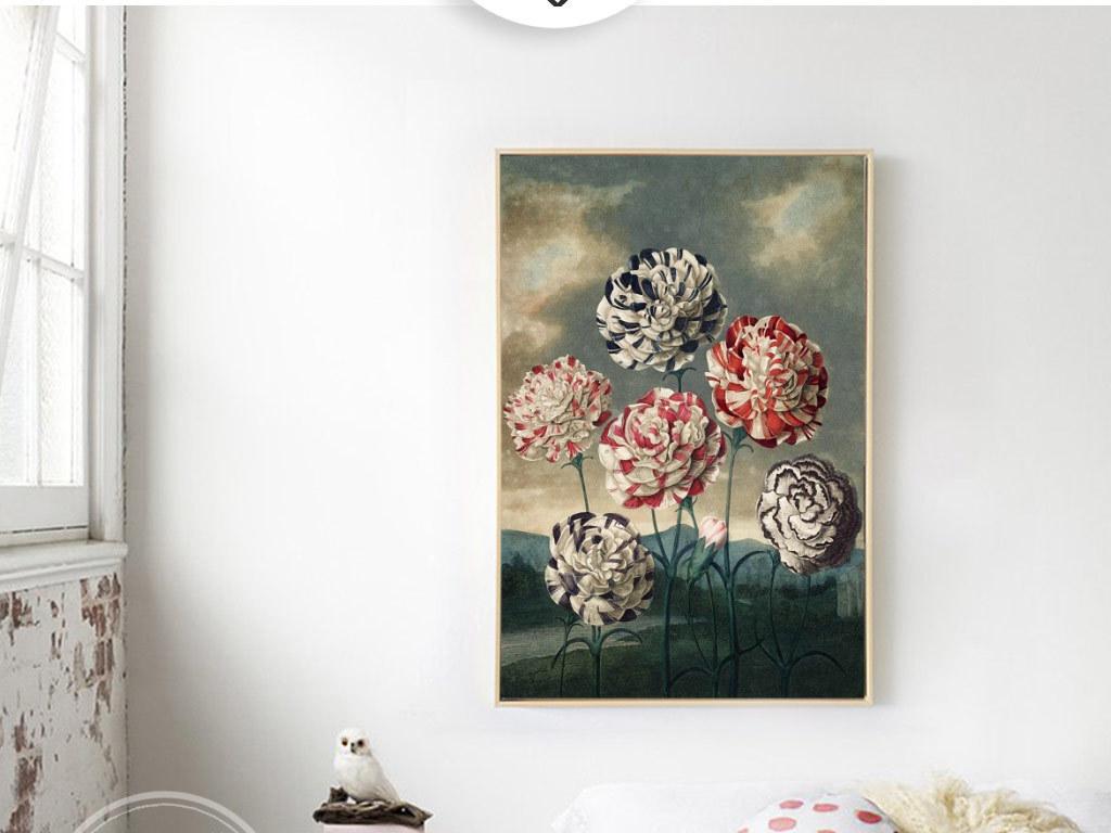欧式手绘花卉无框画(图片编号:15893887)