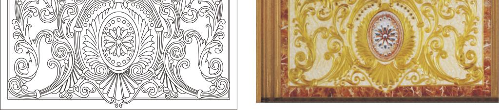 欧式花瓶牡丹花矢量图(图片编号:15895701)_雕刻图案
