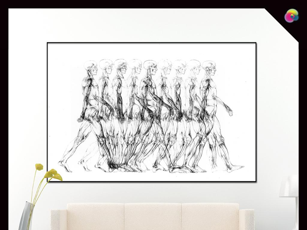 手绘素描艺术字艺术字设计韩国美女艺术图片英文字母艺术字欧美人体
