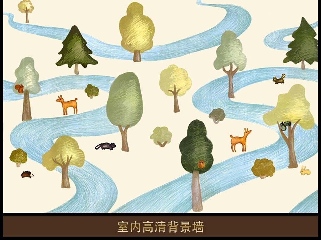 作品模板源文件可以编辑替换,设计作品简介: 动物乐园 位图, rgb格式