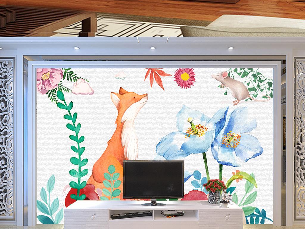 装饰画 电视背景墙 欧式电视背景墙