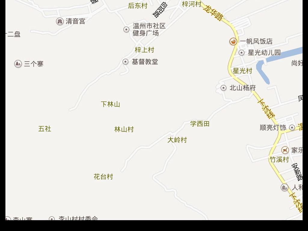 2016高清温州市电子版地图