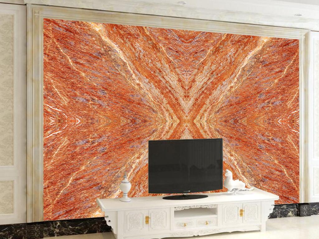 欧式背景瓷砖大理石装修背景拼接花纹高档背景墙影视墙壁画家装大理石图片