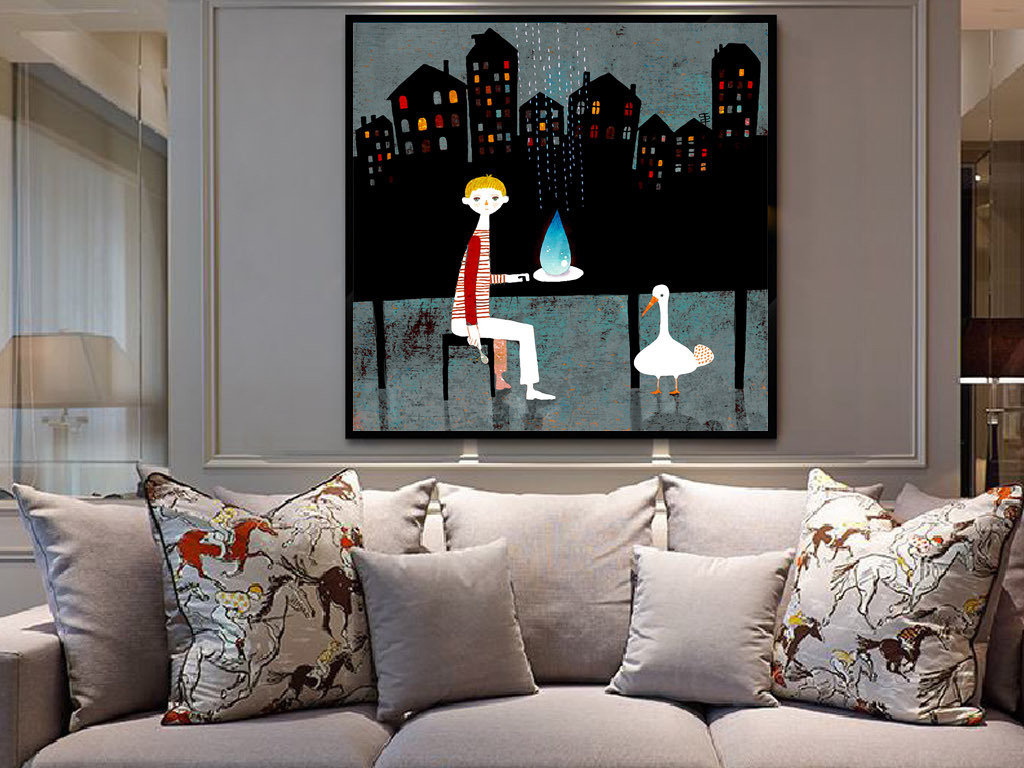 我图网提供精品流行夜晚城市天台欧式现代抽象手绘客厅装饰画素材下载,作品模板源文件可以编辑替换,设计作品简介: 夜晚城市天台欧式现代抽象手绘客厅装饰画 位图, RGB格式高清大图,使用软件为 Photoshop CS5(.tif不分层)