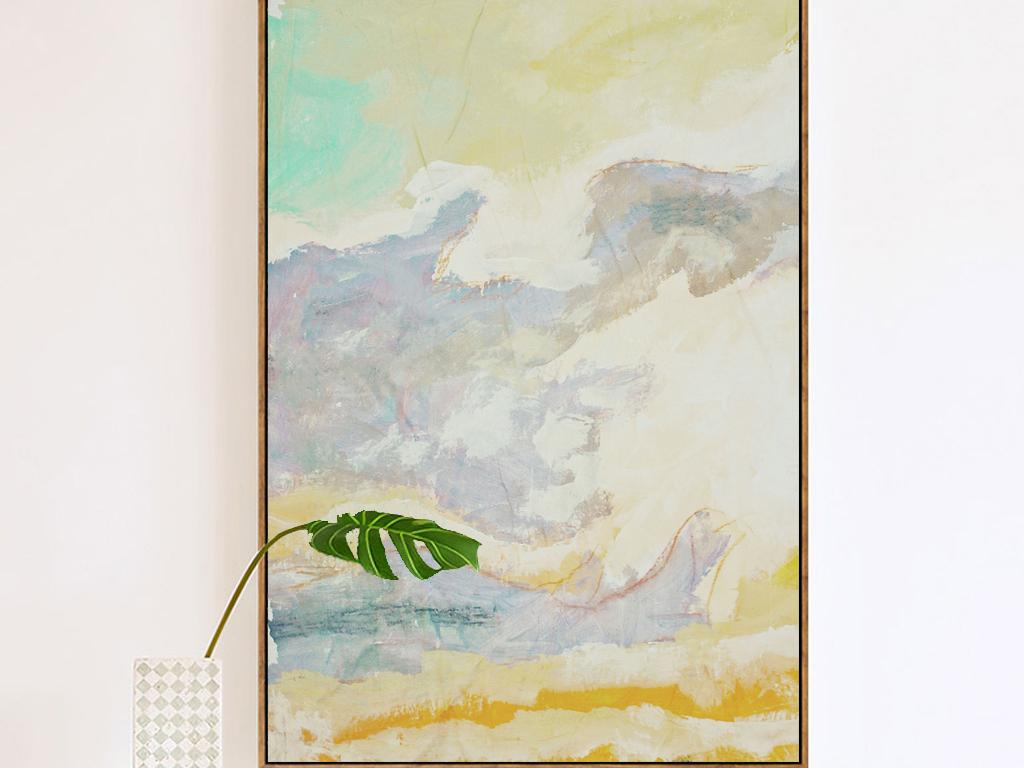 我图网提供精品流行手绘彩绘大理石玛瑙纹路纹理玄关走廊装饰画素材