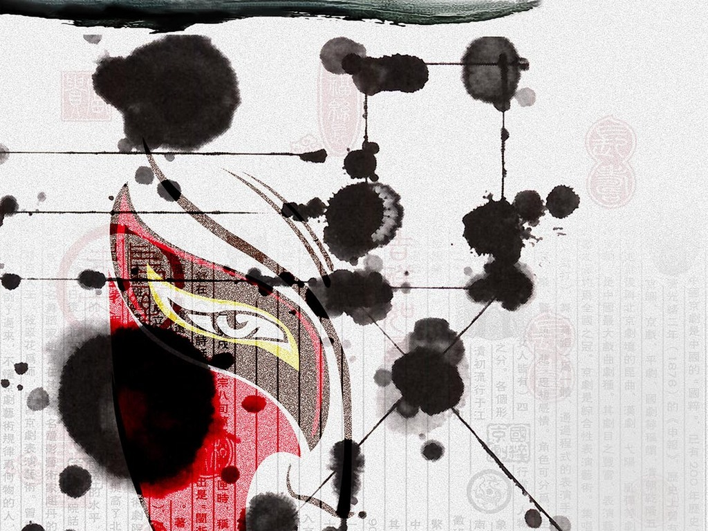 平面|广告设计 海报设计 国外创意海报 > 创意中国脸谱水墨传统文化图片