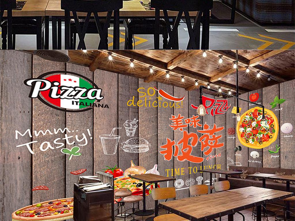 我图网提供精品流行复古披萨西餐厅木板工装背景墙素材下载,作品模板源文件可以编辑替换,设计作品简介: 复古披萨西餐厅木板工装背景墙 位图, RGB格式高清大图,使用软件为 Photoshop CS6(.psd)