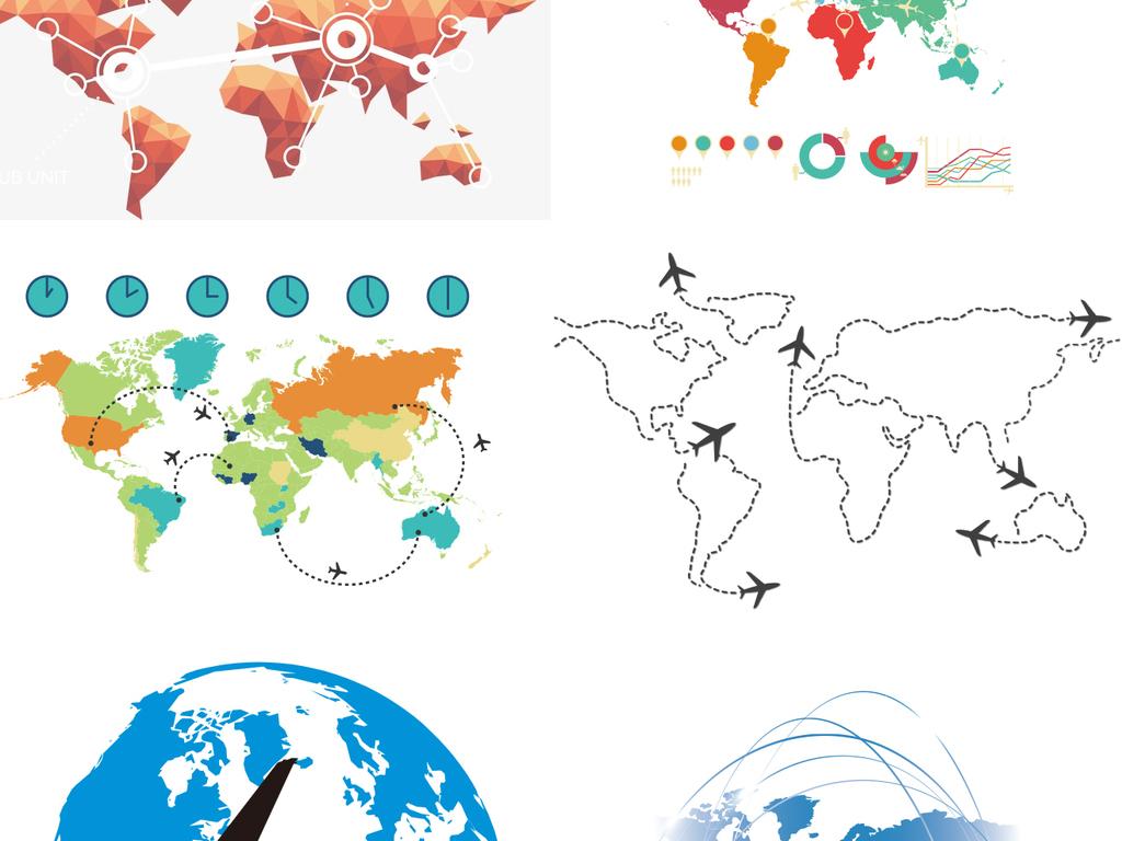 我图网提供精品流行高清矢量航班飞行世界地图文件合集素材下载,作品模板源文件可以编辑替换,设计作品简介: 高清矢量航班飞行世界地图文件合集 矢量图, CMYK格式高清大图,使用软件为 Illustrator CS5(.ai)
