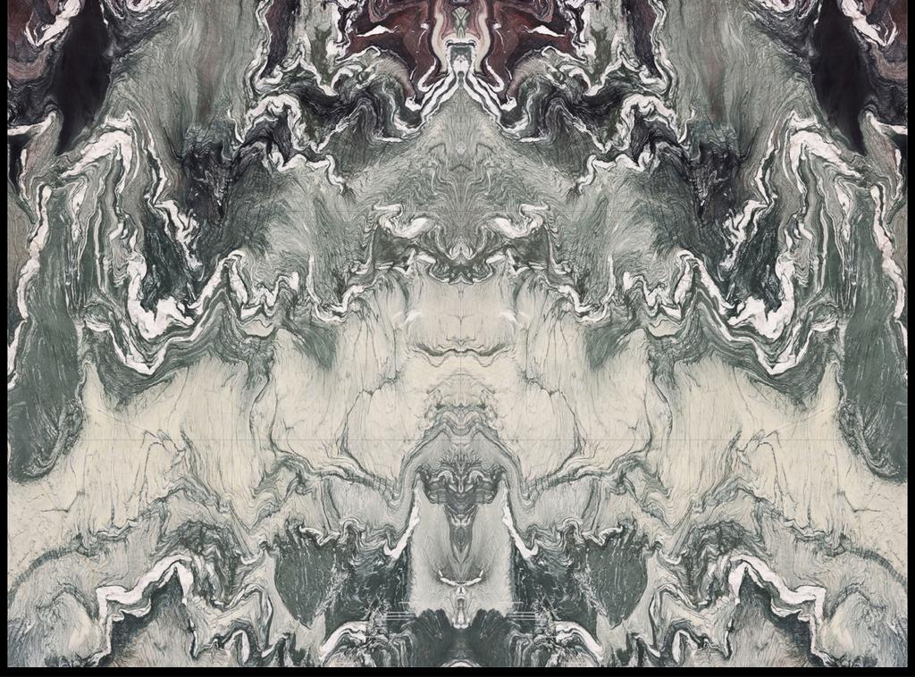 梦幻星空大理石纹中式水墨石纹