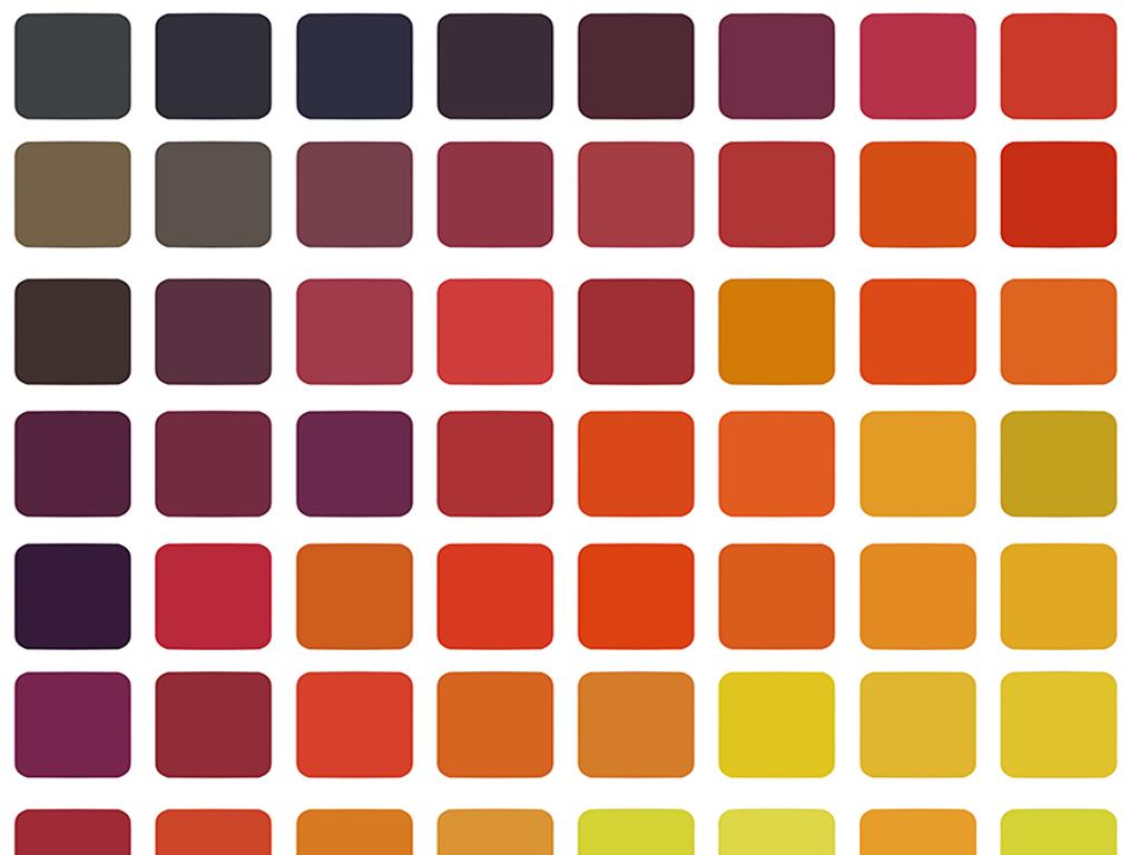 墙纸立体梦幻积木格子方块空间抽象方砖方木多彩方格方格墙纸形象