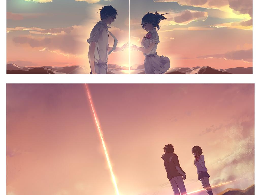 你的名字高清壁纸新海诚日本动漫电影壁纸动漫电影