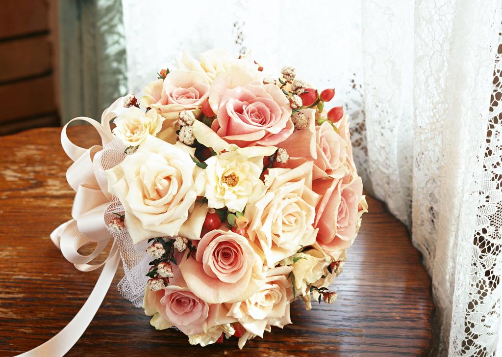 婚礼现场鲜花装饰结婚浪漫素材花朵