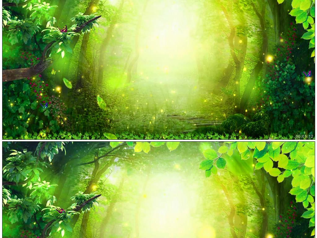 森林系手绘壁纸