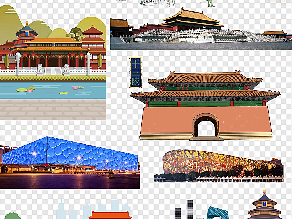 北京旅游标志性建筑北京天安门