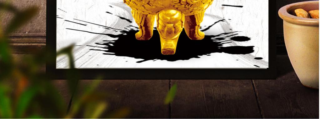 平面|广告设计 展板设计 企业展板设计 > 创意水墨诚信诚实企业励志挂