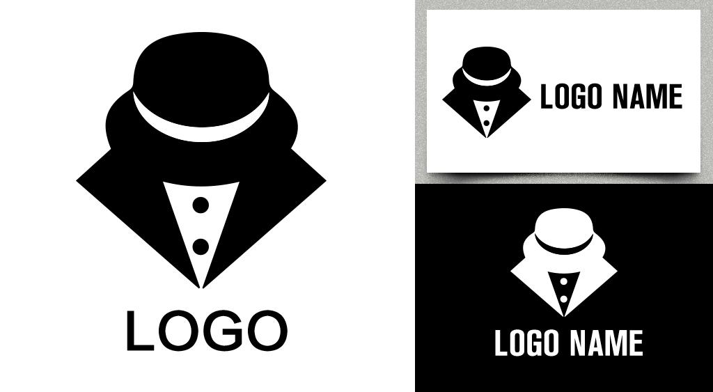 男装logo创意标志设计企业淘宝微商公司图片