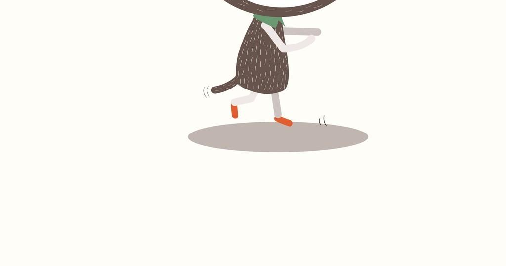 卡通动物兔子图案插画装饰插画