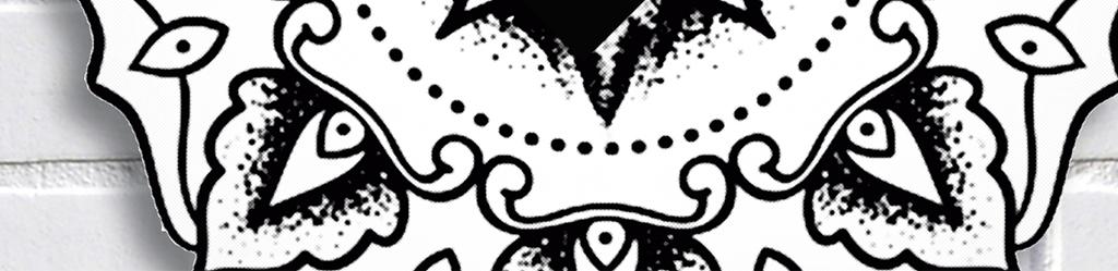 欧美风砖墙手绘黑白经典梅花鹿鹿角小鹿三角形北欧背景三角形背景装饰