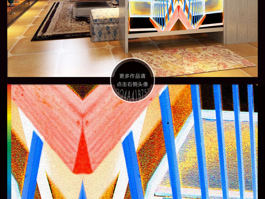 抽象背景蓝色抽象装饰画抽象现代背景抽象简约抽象现代人物抽象画现代