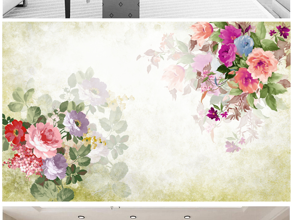 手绘效果图手绘pop海报手绘风景手绘人物手绘