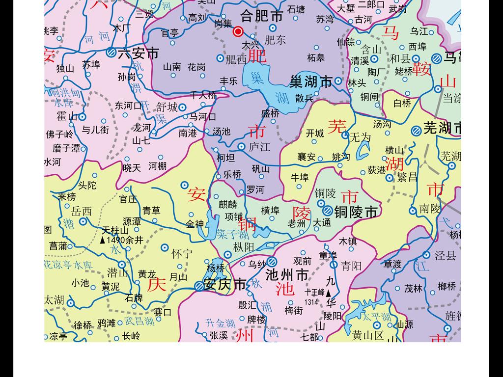 安徽省地图ai源文件下载(图片编号:15930764)_安徽_我
