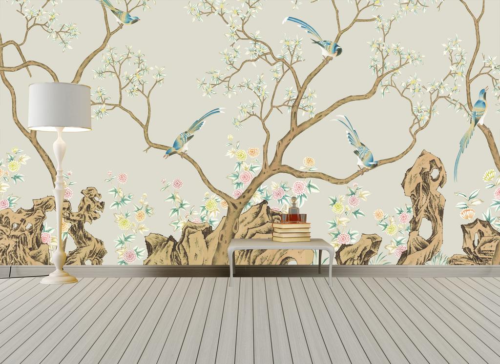 一点透视客厅卧室色彩手绘图