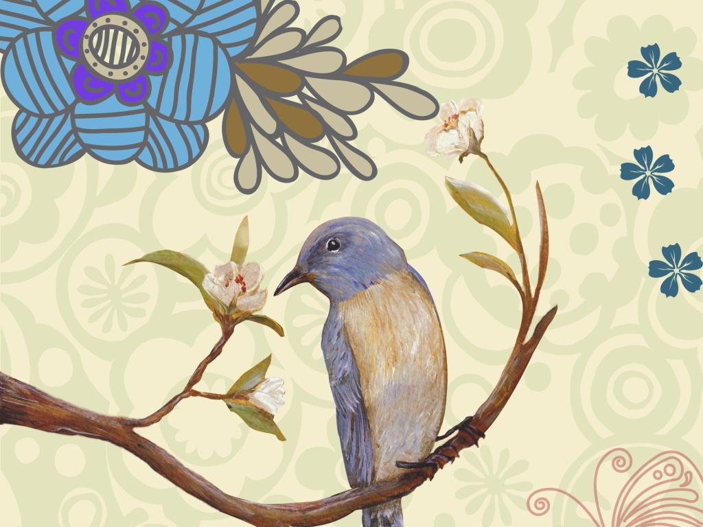 我图网提供精品流行艺术油画枝头上的鸟儿鲜花写意图片素材下载,作品模板源文件可以编辑替换,设计作品简介: 艺术油画枝头上的鸟儿鲜花写意图片 位图, RGB格式高清大图,使用软件为 Photoshop CS5(.psd)