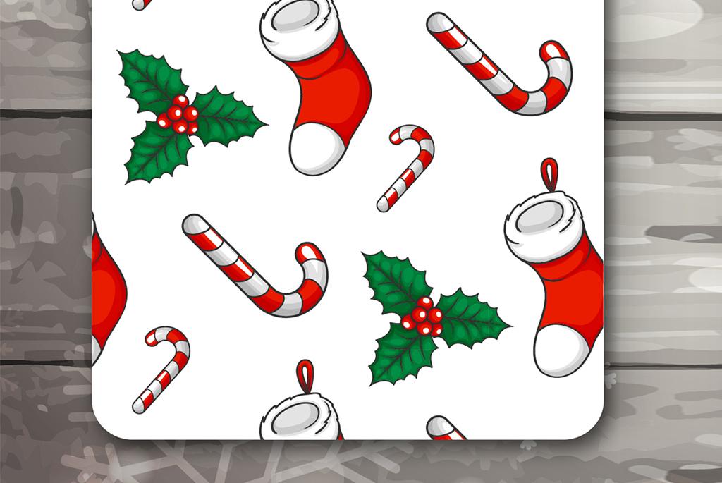 卡片欢乐圣诞圣诞礼物圣诞树圣诞贺卡新年快乐圣诞节