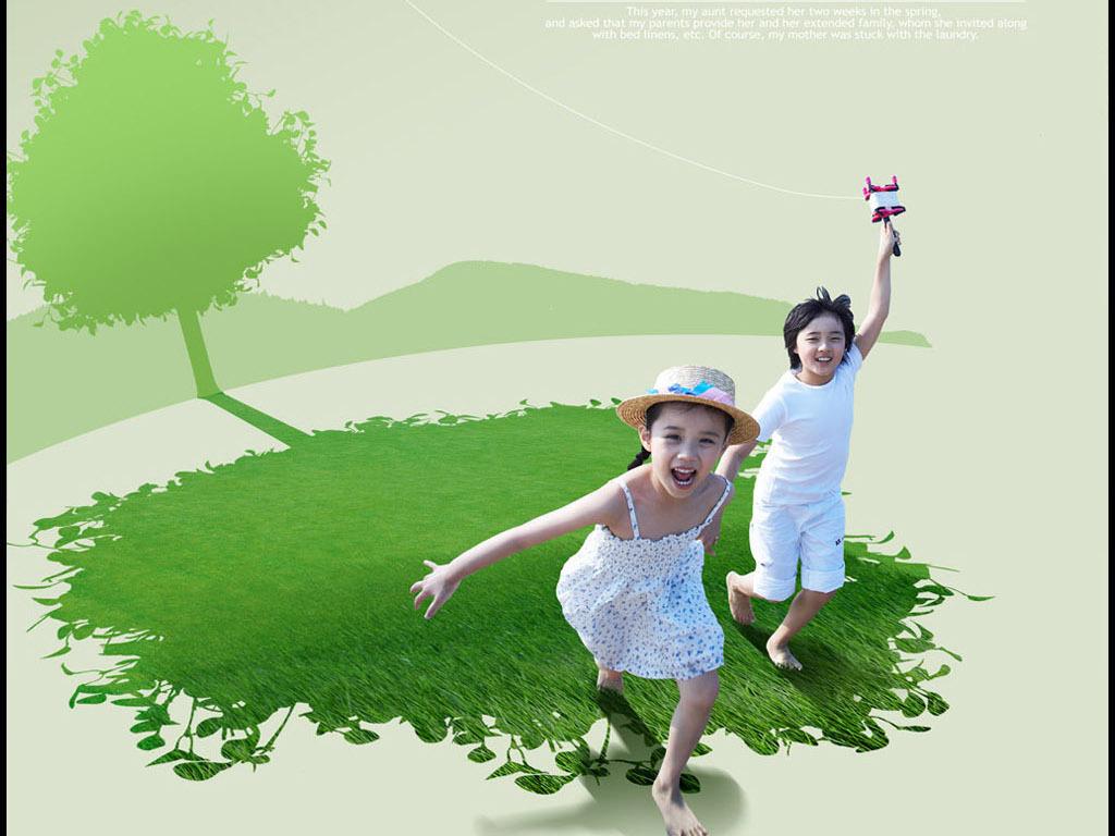 国外创意环保手绘海报
