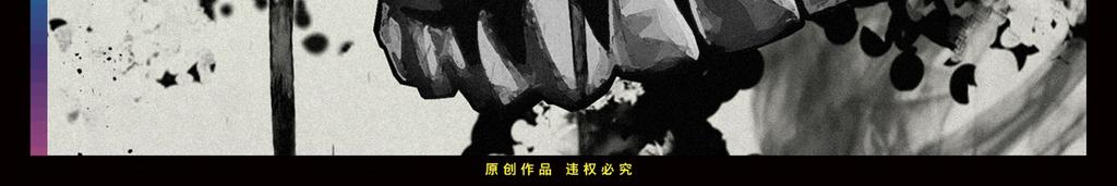 黑暗抽象插画黑白黑白抽象素描骷髅头骷髅手绘插画黑白手绘手绘抽象