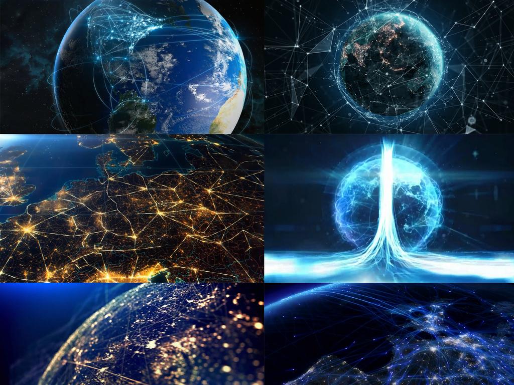 全球哈���d_科技互联网地球连线信息全球化视频