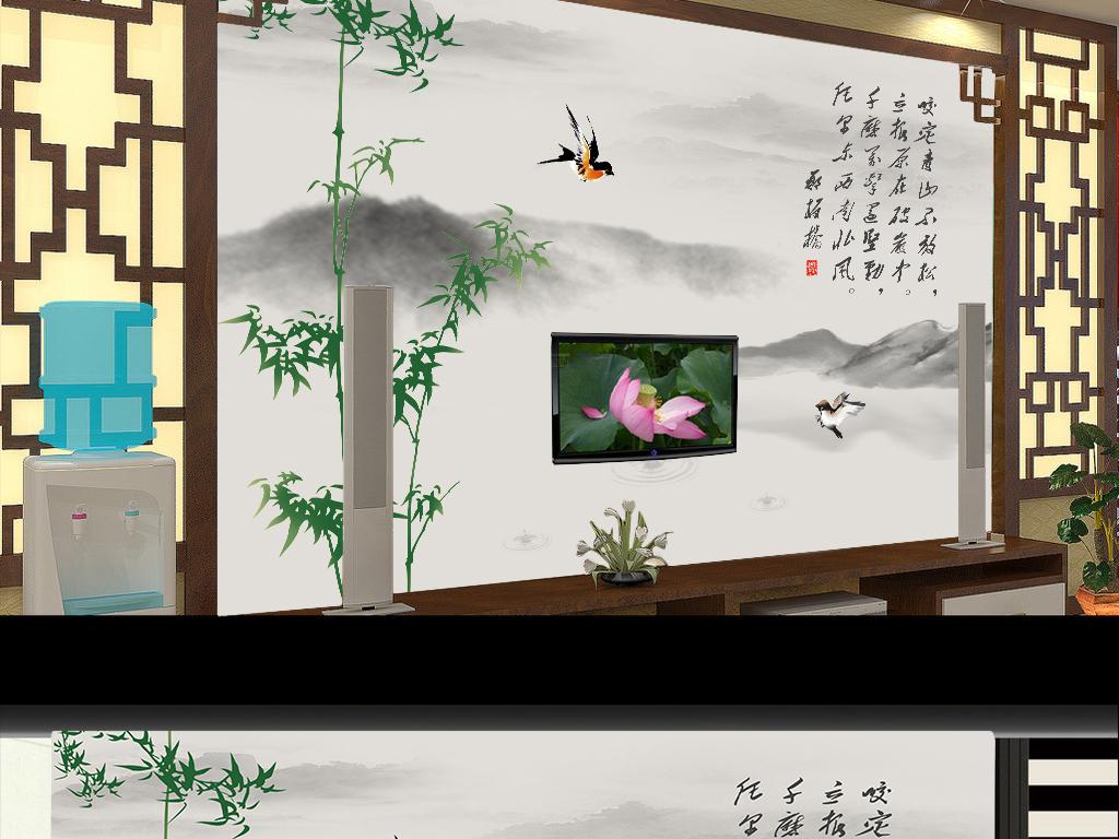 古画火锅手绘图