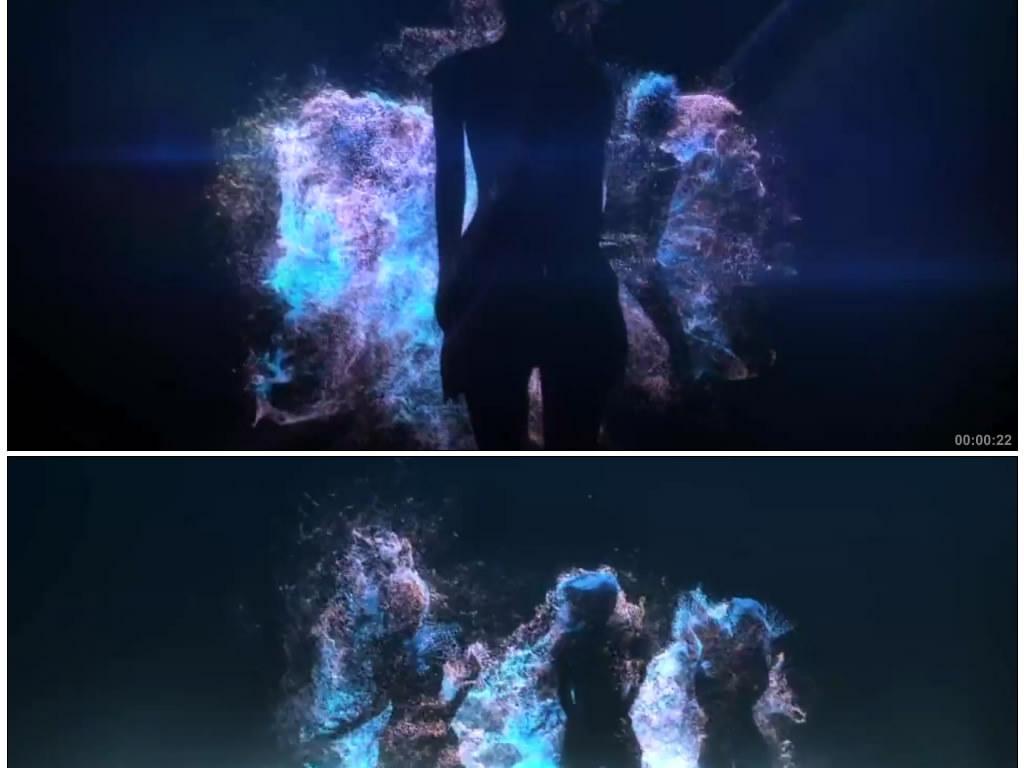热舞视频_狂野美女热舞视频素材