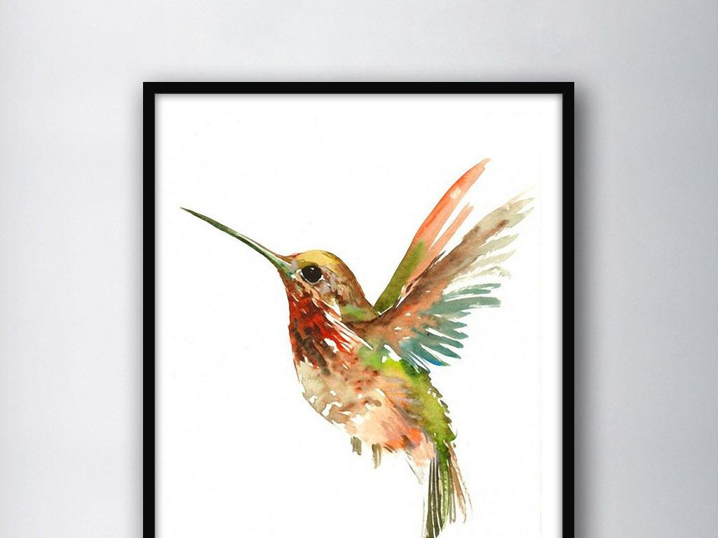 手绘北欧家居欧式家居欧式家居装饰百灵鸟卡通鸟黄鹂鸟鸟笼子鸟飞翔