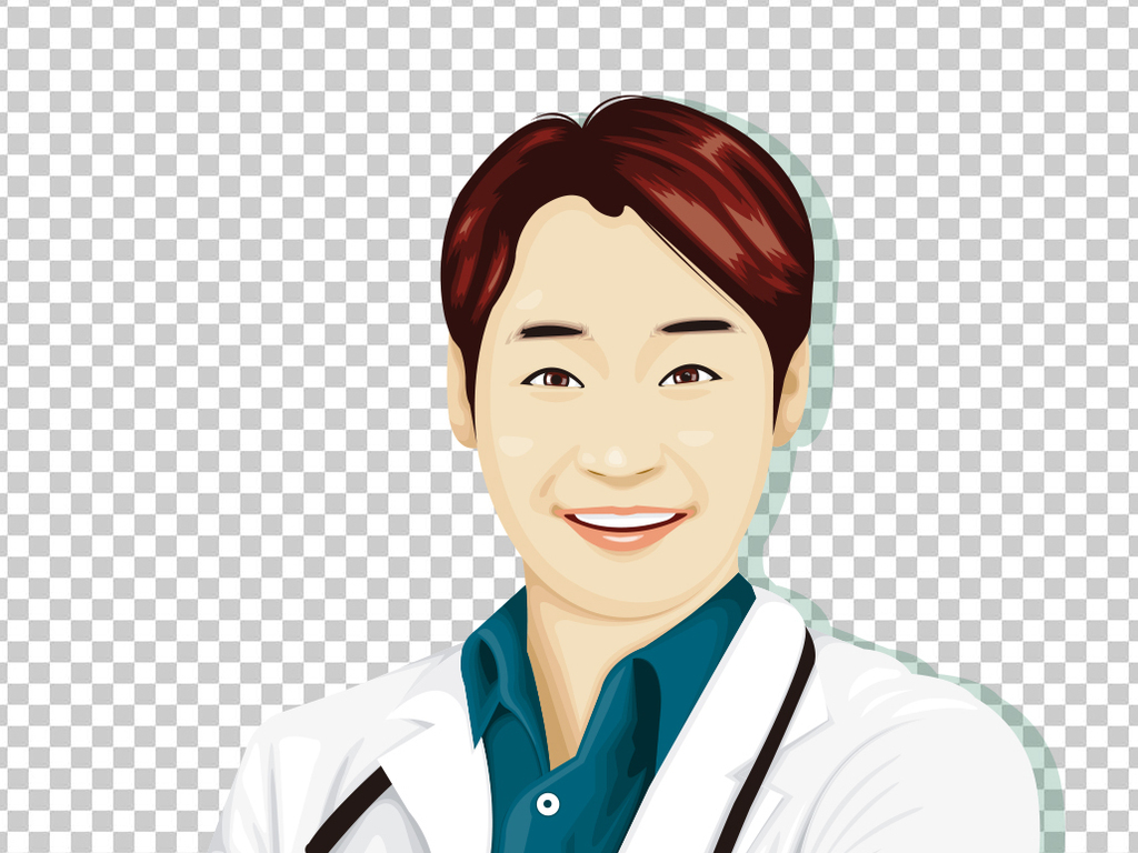 ai)                                  漫画医生美丽医生卡通形象