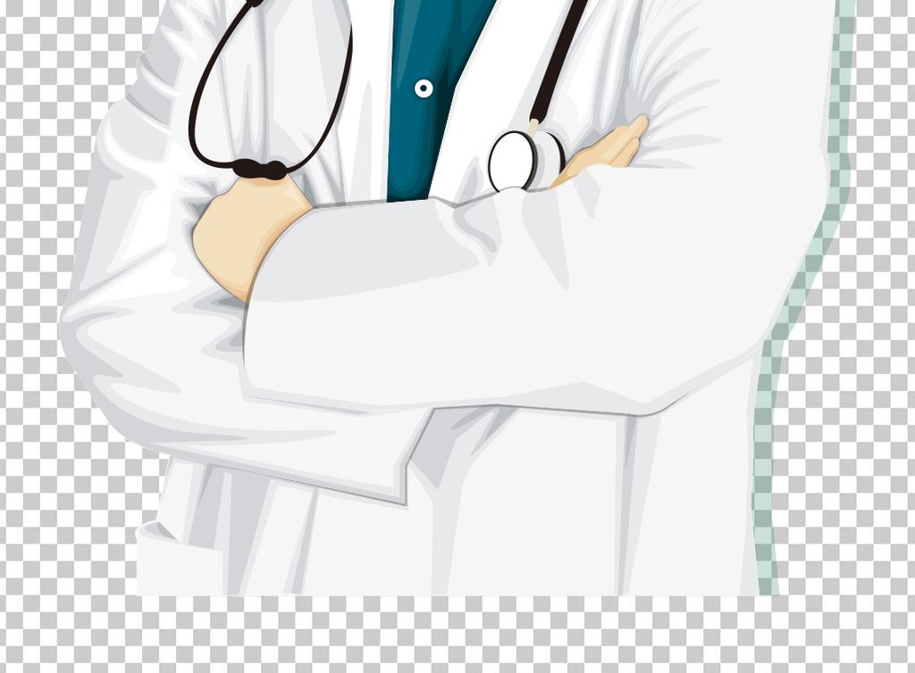 卡通男医生形象(图片编号:15945704)