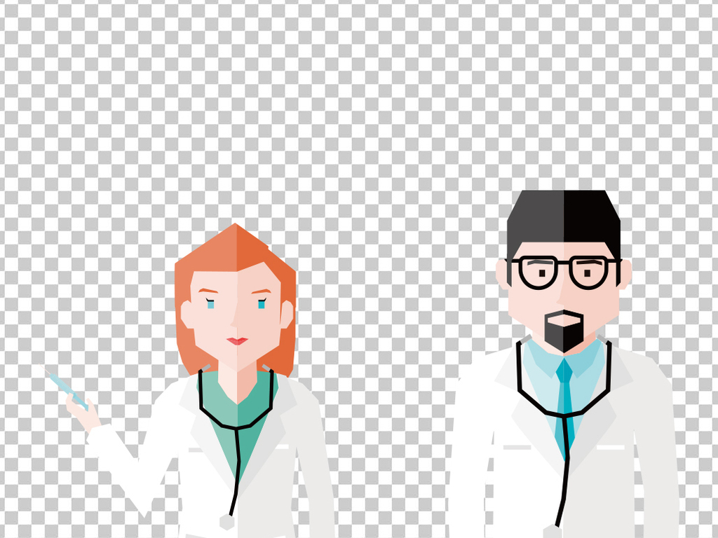 设计元素 人物形象 动漫人物 > 卡通可爱医生形象  版权图片 设计师