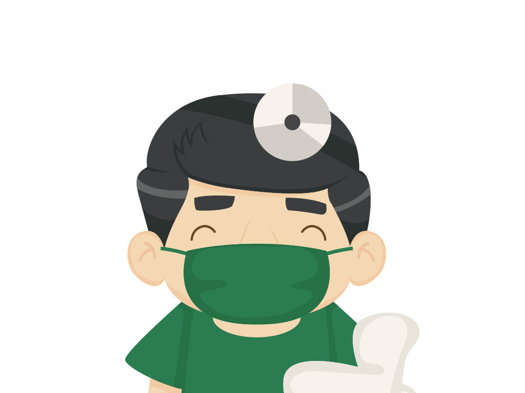 ai)漫画医生美丽医生卡通形象可爱医生形象卡通形象卡通人物医院卡通