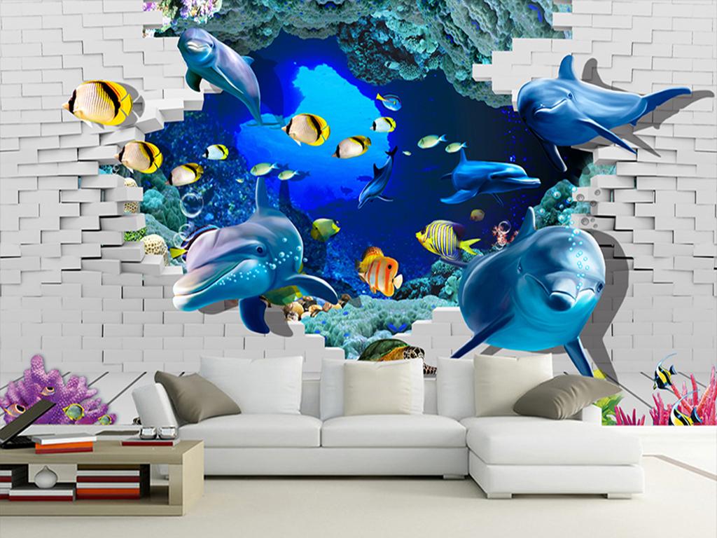 3d海底世界(图片编号:15947435)_动物_我图网