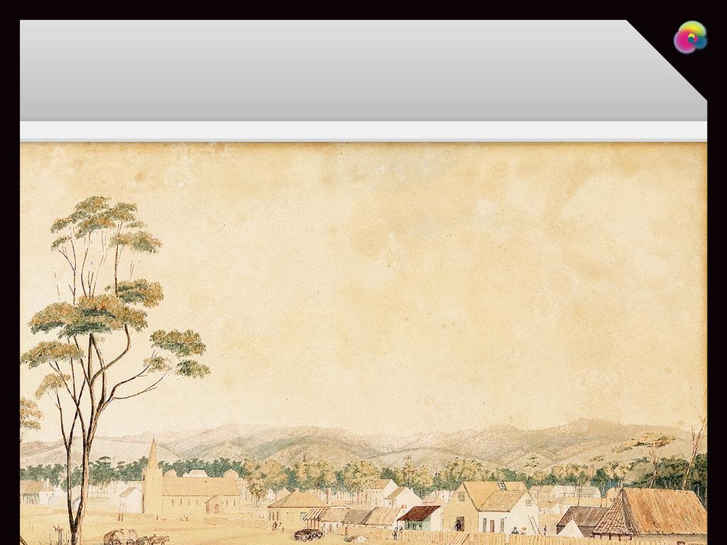 手绘油画欧式复古手绘立体视觉风景背景墙