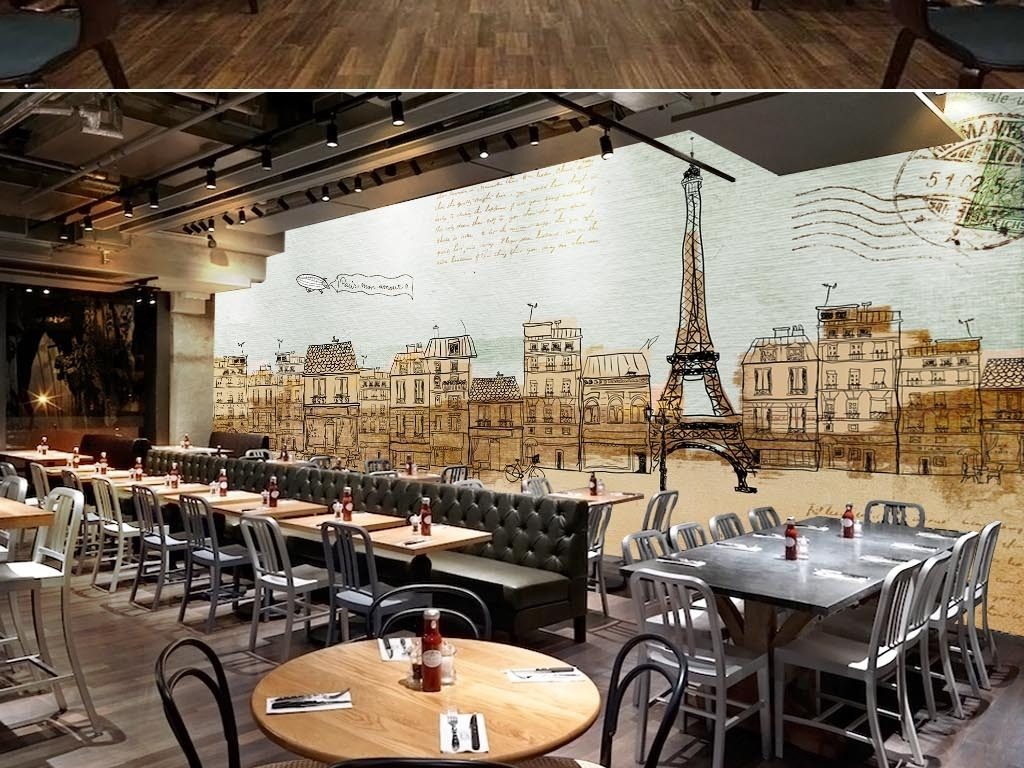我图网提供精品流行工业风创意复古法国街景线描涂鸦酒吧背景墙素材下载,作品模板源文件可以编辑替换,设计作品简介: 工业风创意复古法国街景线描涂鸦酒吧背景墙 位图, RGB格式高清大图,使用软件为 Photoshop CS3(.psd)