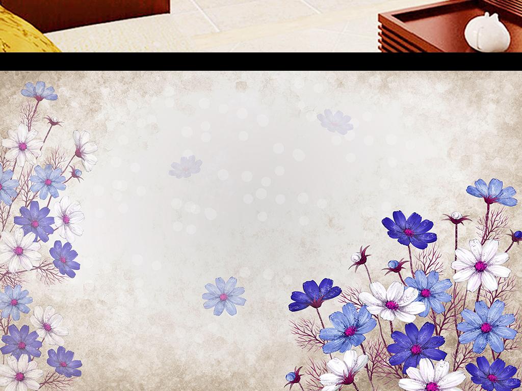 花卉手绘复古花卉手绘手绘手绘pop牡丹手绘手绘牡丹