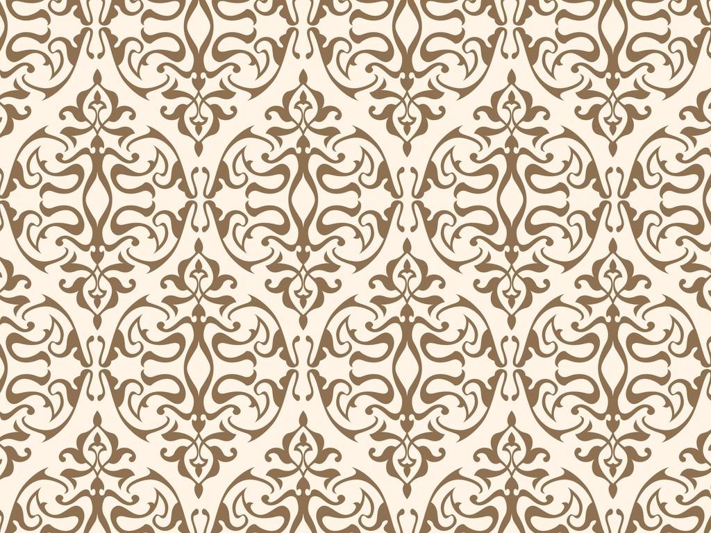 欧式花纹壁纸墙纸图片