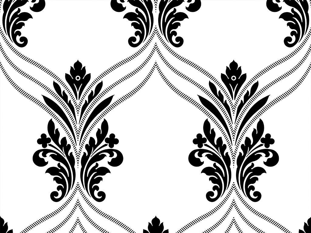 四方连续欧式花纹大理石纹雕花背景墙(图片编号:)