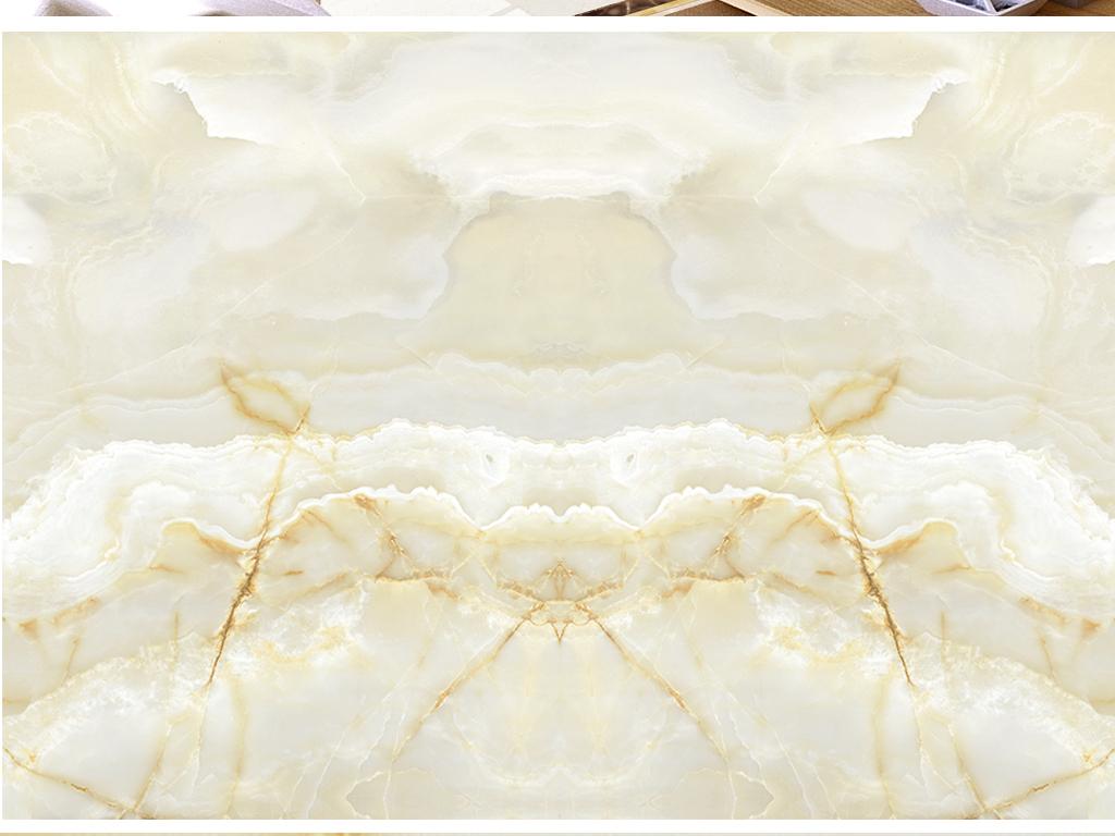 高清大理石石纹欧式花纹背景墙云中歌