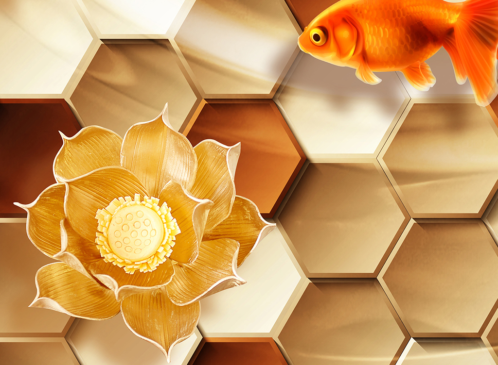 我图网提供精品流行金鱼荷花浴室3D地板素材下载,作品模板源文件可以编辑替换,设计作品简介: 金鱼荷花浴室3D地板 位图, RGB格式高清大图,使用软件为 Photoshop CS6(.psd) 3D地板