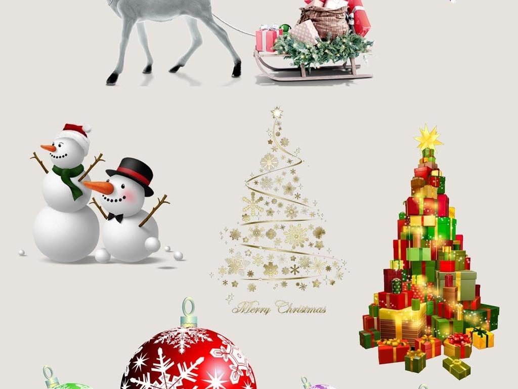 圣诞铃铛                                  圣诞礼物圣诞装饰麋鹿