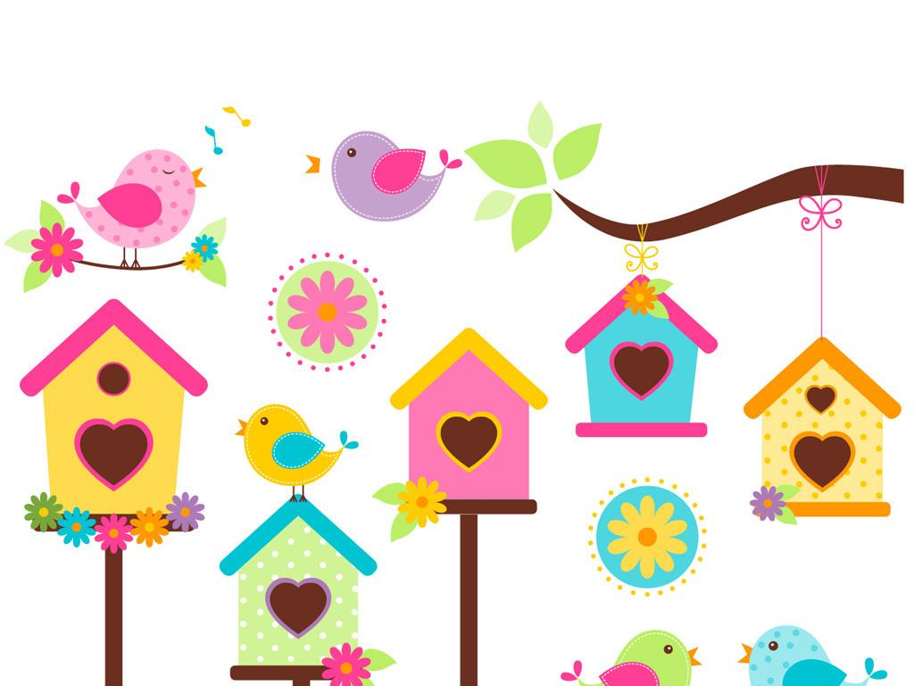 背景可爱素材可爱卡通动物卡通房子卡通笑脸卡通小猴子卡通人物素描